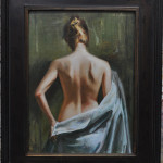 Before the Bath-16x12 oil on linen-SOLD