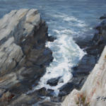 Cliffwalk-Study-5-Fort-Williams-9x12-oil-on linen-private collection