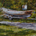 F.I.S.H. boatworks-9x12, privite collection