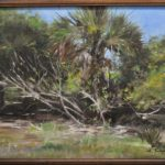Florida Landscape,12x16 oil, SOLD