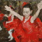 Little Red Dancers-Private Collection copy