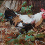 Looking For The Ladies-11x14 oil SOLD