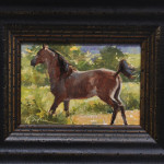 Proud Prancer-5x7 oil on linen panel-SOLD
