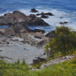 Summer Coast-17x27 oil on linen-SOLD