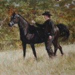 The Paradise Horseman 11x14 oil on linen copy2