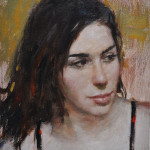 Thoughtful-Hodges Soileau-oil 12x9 SOLD