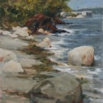 Willard Beach 12x9 oil on linen panel-SOLD