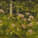 wildflowers-6x8 oil on linen panel-SOLD